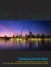 JEA/NSPA National High School Journalism Convention Fall 2008 Program - St. Louis (PDF)