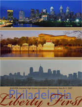 JEA/NSPA National High School Journalism Convention Fall 2007 Program - Philadelphia