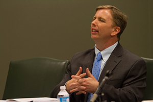 Frank LoMonte speaks at a Hazelwood Symposium. ©2012 UNC Center for Media Law and Policy, used under a Creative Commons Attribution-NonCommercial-ShareAlike 2.0 Generic license