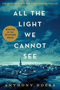 """JEA has selected a novel as the Spring 2016 One Book: """"All the Light We Cannot See"""" by Anthony Doerr."""