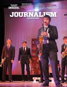 Junior James Wheeler plays his saxophone, something he has been doing since he was 6. | Photo by Sebastian Becerra, Omaha Central High School (Omaha, Nebraska)