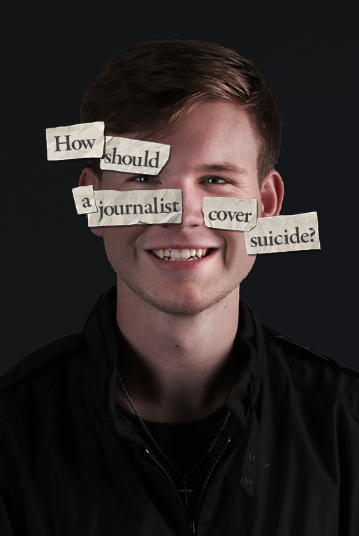 How should a journalist cover suicide