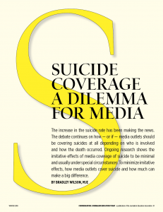 suicide coverage
